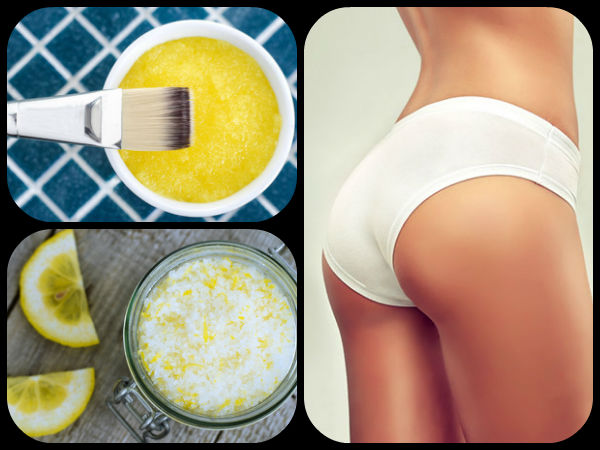 Home Remedies For Smooth Butt
