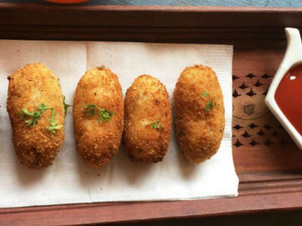Cheesy Rice Poppers Recipe In Tamil