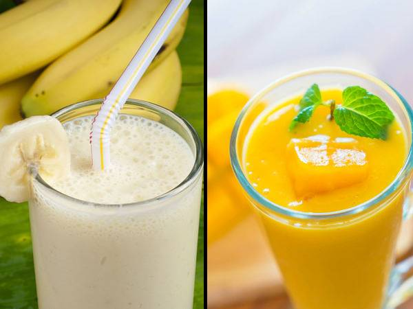 Banana Vs. Mango Shake: What To Include In Your Diet For Weight Loss
