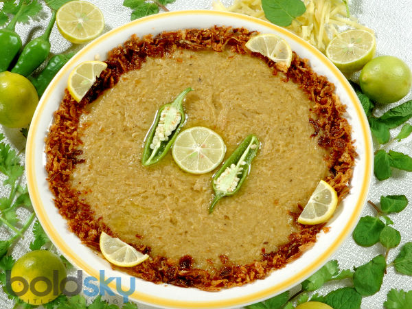Ramadan Special Mutton Haleem Recipe In Tamil