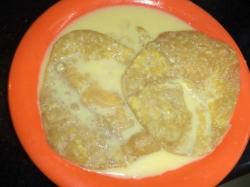 Quick Easy Badam Milk Puri