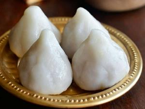 Thengai Poorna Kozhukattai Recipe