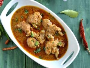Chicken Kuzhambu Madurai Munniyandi Vilas Style