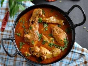 Kongu Naadu Chicken Kuzhambu