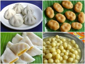 Ganesh Chaturthi Special Varieties Kozhukattai Recipes