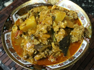 Gujarati Chicken Curry