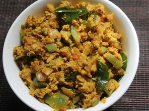 Ridge Gourd Egg Bhurji Recipe