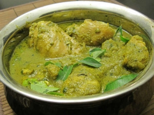 Mint Chicken Curry Recipe