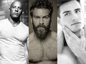 Bald Beard Full Shave Who Is More Sexier Scientific Study