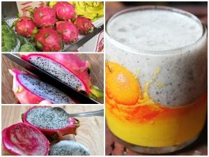 Dragon Fruit Juice Recipe