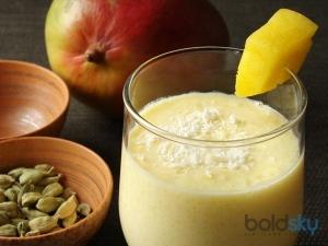 Mango Coconut Milk Smoothie Recipe