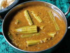 Iyengar Style Murungakkai Sambar Recipe