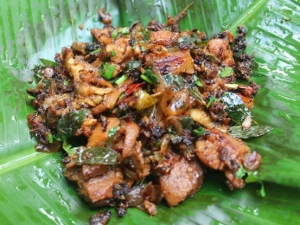 Chettinad Pepper Mutton Roast Recipe