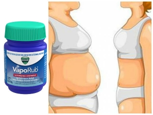 How To Use Vicks Vaporub To Get Rid Of Belly Fat