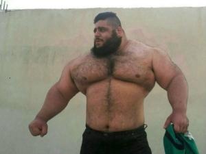 A Real Life Hulk Sajad Gharibi