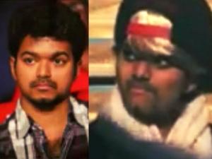 A Girl Fan Actor Vijay Looks Absolutely Like Him