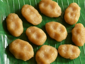 Sweet Aval Kozhukattai Recipe