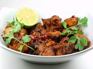Madurai Nattu Kozhi Varuval Recipe