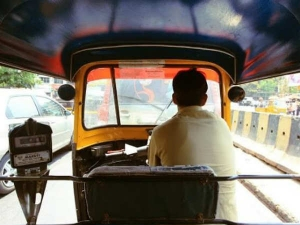 Why Do Most Auto Rickshaw Drivers Sit On The Edge