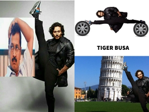 Tiger Shroff S Latest Picture Results Hilarious Memes