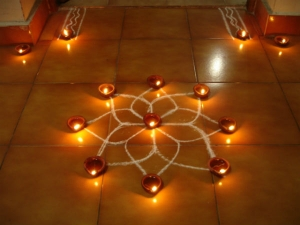 Different Types Rangolis Diwali