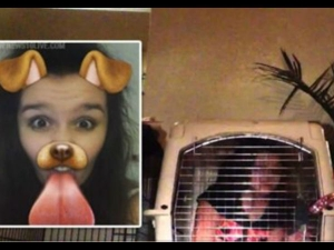 A Man Locked His Daughter A Cage Because She Used Snapchat