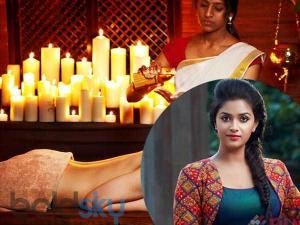 Health Beauty Secrets Actress Keerthy Suresh