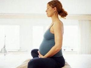 Meditation Pregnant Women Aid