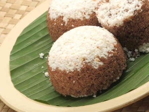 Rice Puttu An Onam Recipe