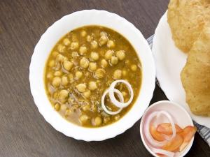 Choley Palak Masala Recipe