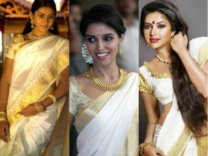 Hairstyles Try With Kerala Saree
