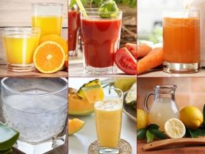 Juices Clear Pimples