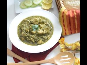 Chicken Coriander Gravy