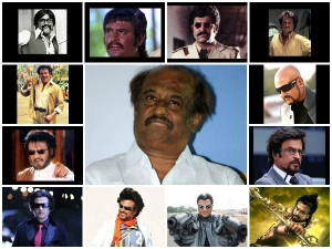 Rajinikanth Different Hairstyles