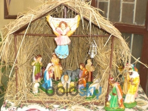 Decorate Christmas Crib Your Home