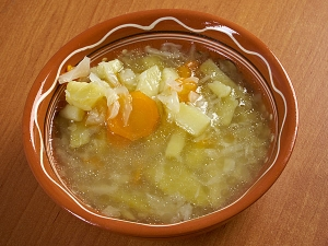Cabbage Pepper Soup
