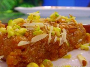 Badam Halwa Krishna Jayanthi Spl Recipe