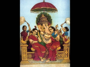 The Consorts Lord Ganesha