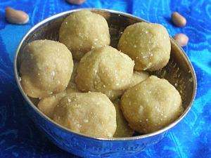 Peanut Ladoo Recipe Diwali Sweets