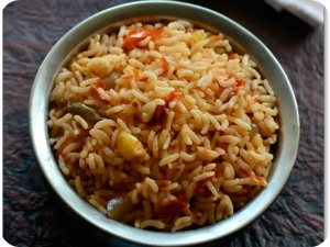 Simple Tomato Rice Recipe