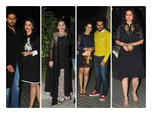 Celebrities At Farah Khan S 50th Birthday Bash