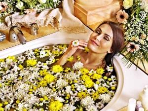 Special Bath Reduce Summer Body Heat