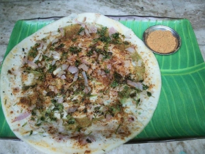 Onion Podi Dosa Recipe
