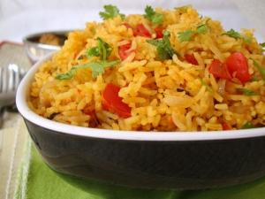 Healthy Varagarisi Tomato Rice