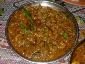 Andhra Style Mutton Keema Curry Recipe