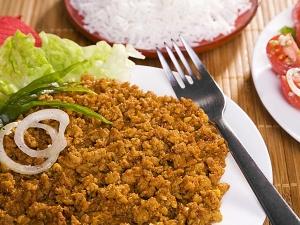 Ramzan Special Butter Keema Masala