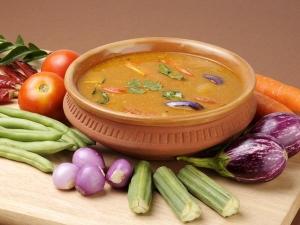 Kerala Brahmin Style Sambar Recipe
