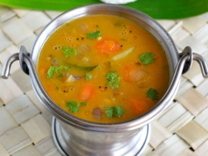 Simple Tiffin Sambar Recipe
