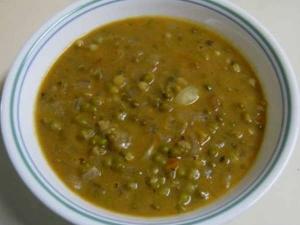 Green Gram Pepper Masala
