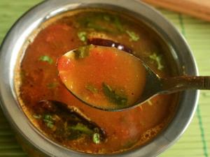 Kerala Tomato Rasam Onam Special